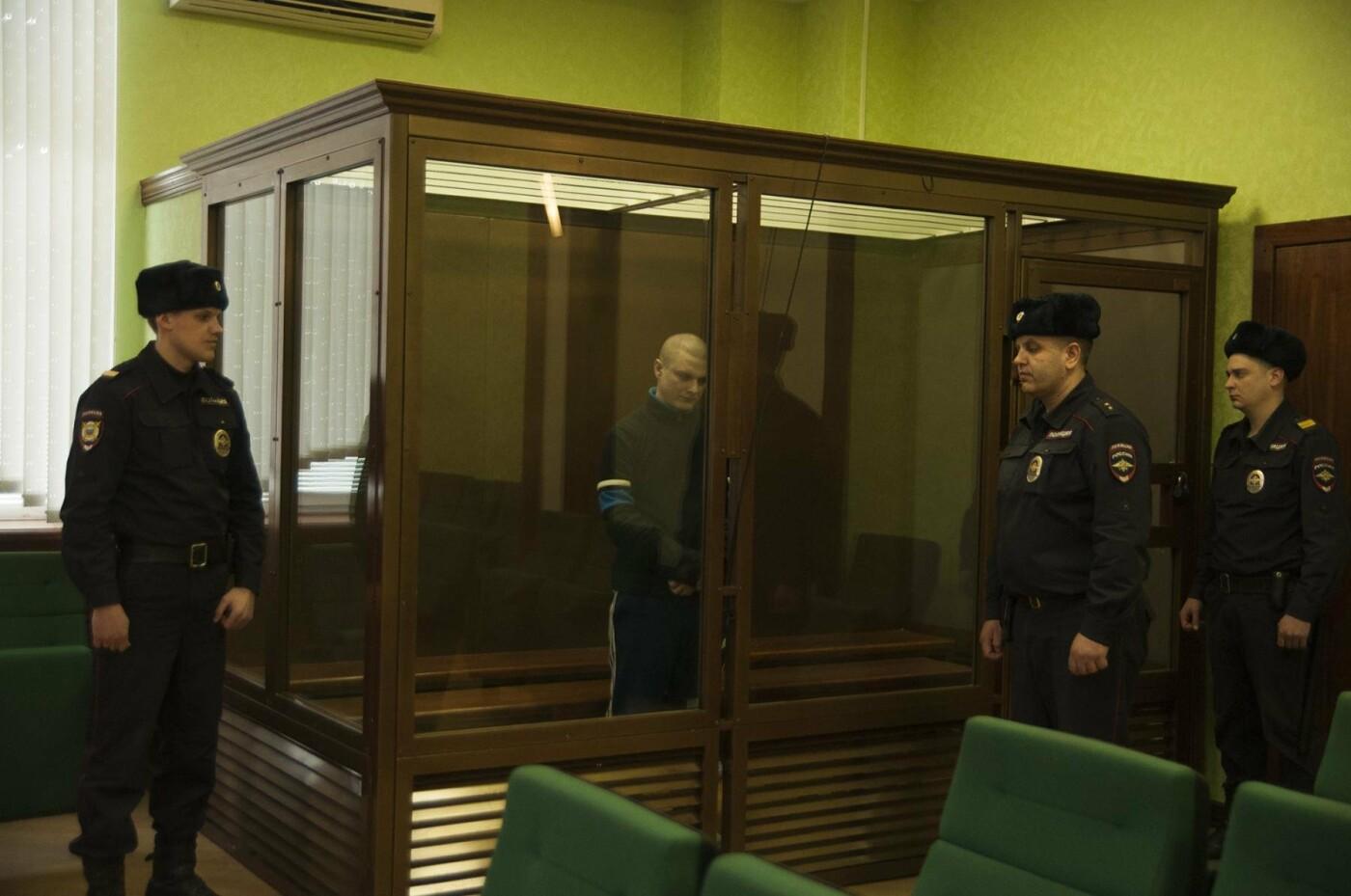 Михаил Саплинов во время оглашения приговора - Фото Марии Литвиновой