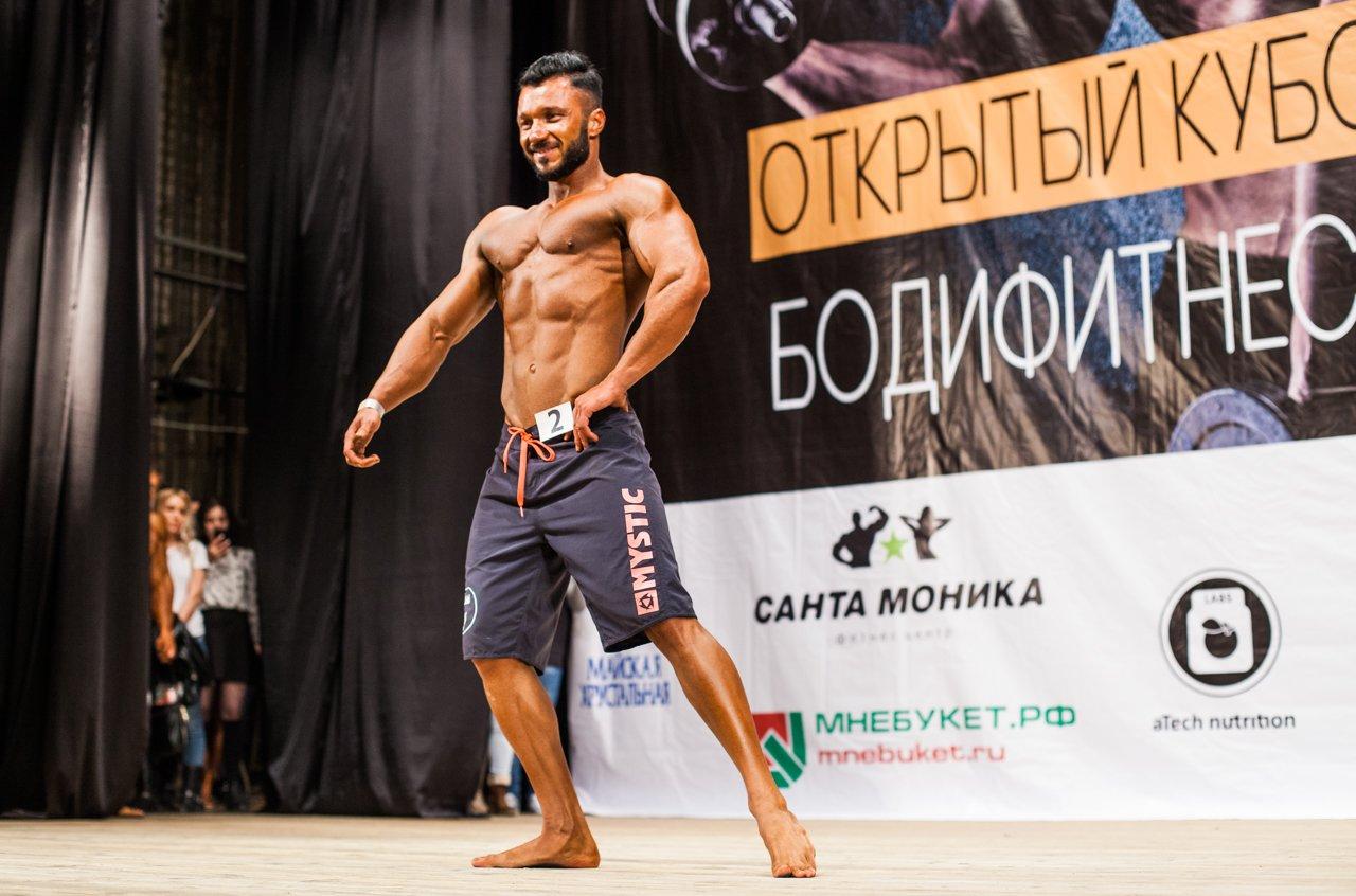 Губкинец Владимир Беляев стал чемпионом в белгородском турнире по бодибилдингу , фото-9