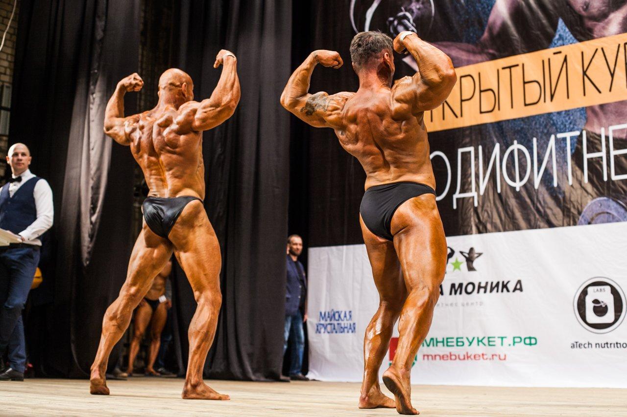 Губкинец Владимир Беляев стал чемпионом в белгородском турнире по бодибилдингу , фото-16