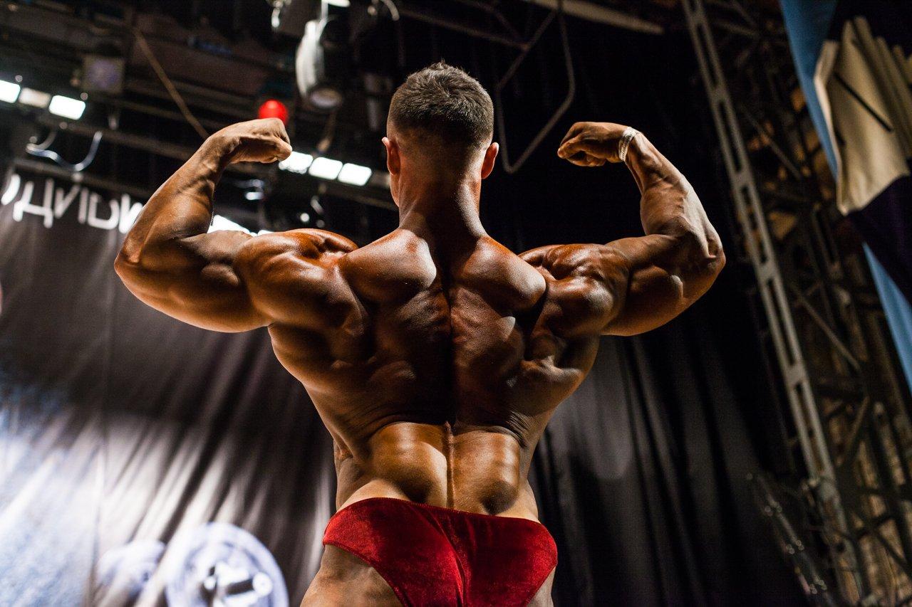 Губкинец Владимир Беляев стал чемпионом в белгородском турнире по бодибилдингу , фото-23
