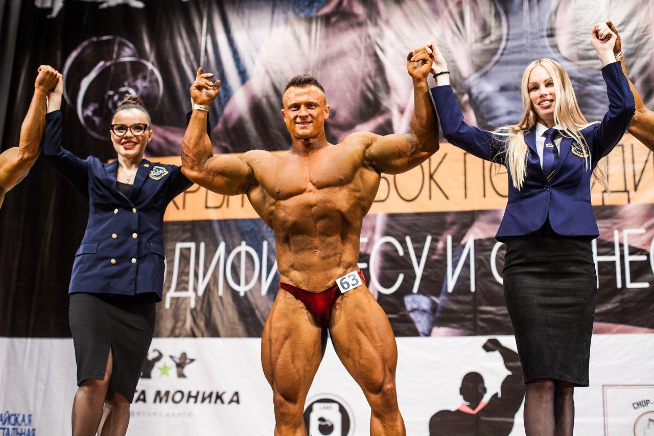 Губкинец Владимир Беляев стал чемпионом в белгородском турнире по бодибилдингу , фото-25