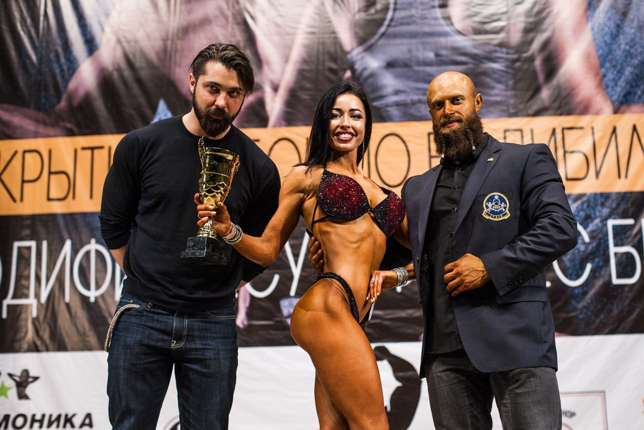 Губкинец Владимир Беляев стал чемпионом в белгородском турнире по бодибилдингу , фото-28