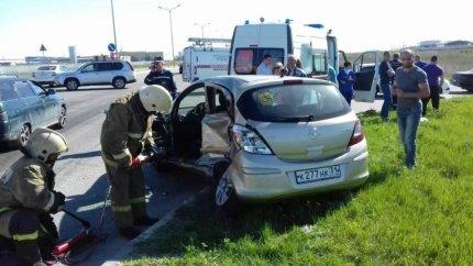 В Белгороде в столкновении двух иномарок погиб пенсионер, фото-1