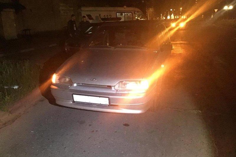 В Старом Осколе парень угодил под колёса ВАЗа, фото-1
