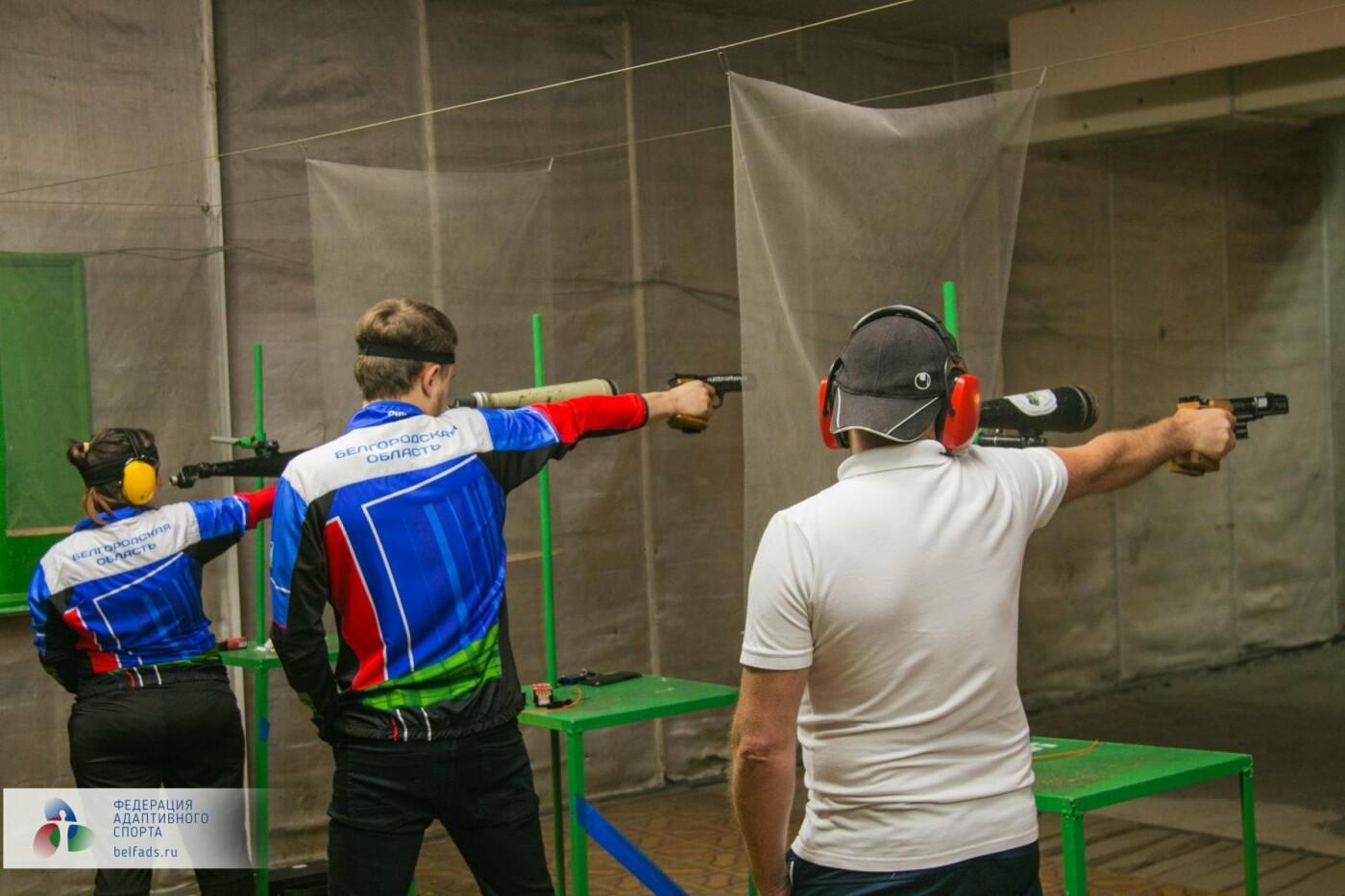 В Белгороде прошёл открытый личный Чемпионат по пулевой стрельбе среди лиц с нарушением слуха, фото-2