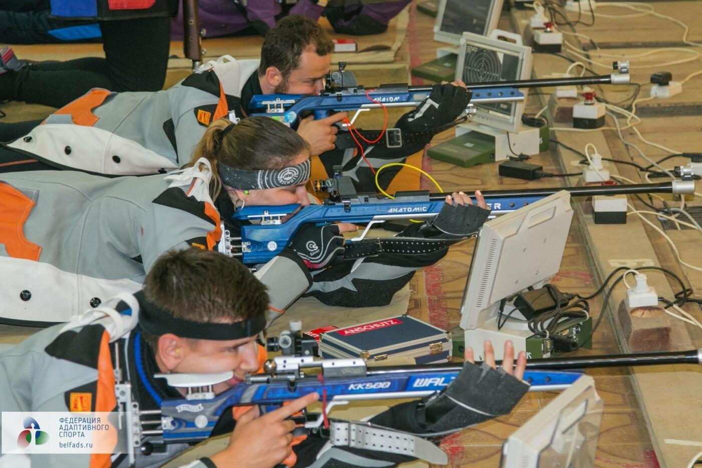 В Белгороде прошёл открытый личный Чемпионат по пулевой стрельбе среди лиц с нарушением слуха, фото-7