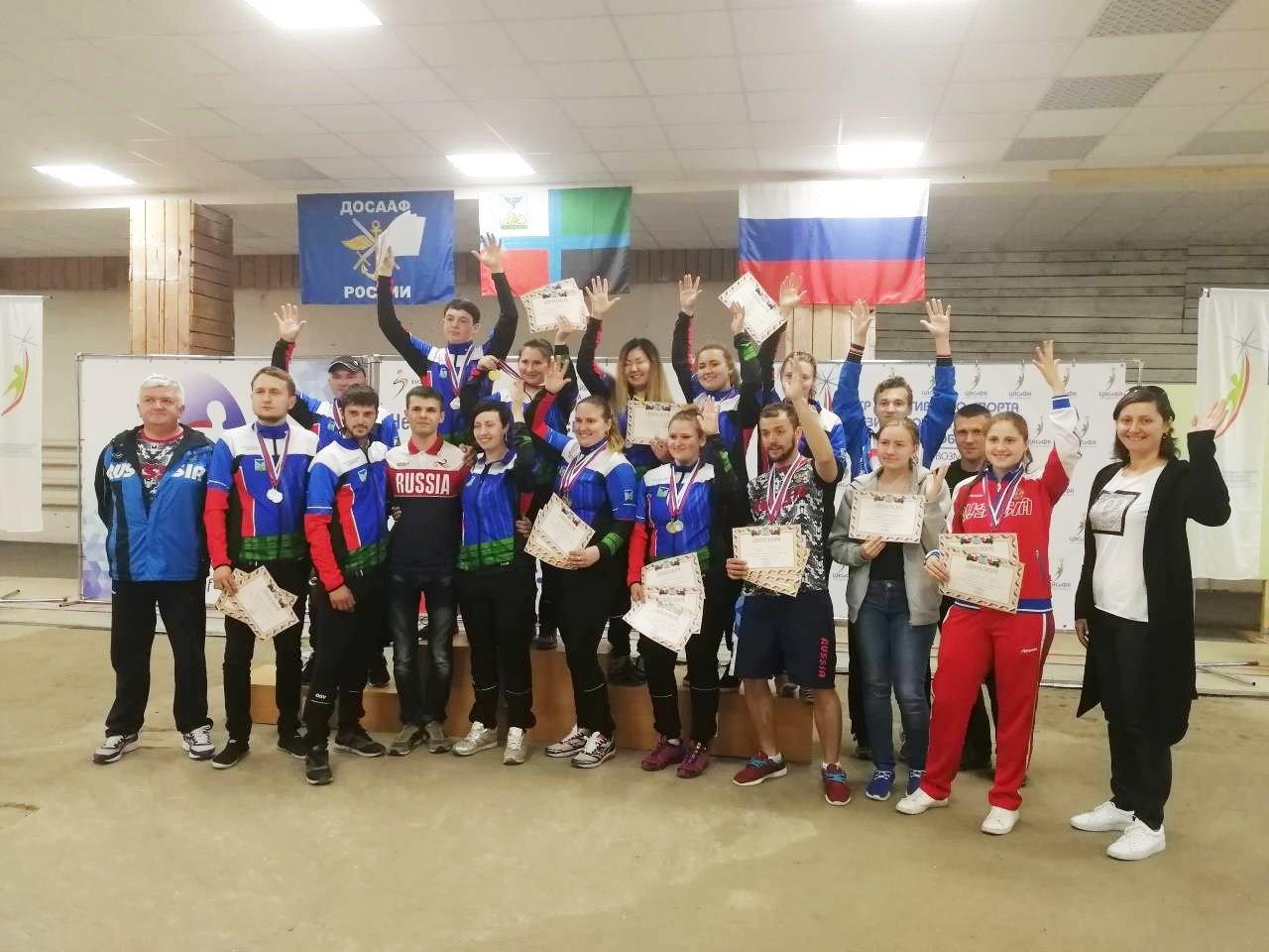 В Белгороде прошёл открытый личный Чемпионат по пулевой стрельбе среди лиц с нарушением слуха, фото-1