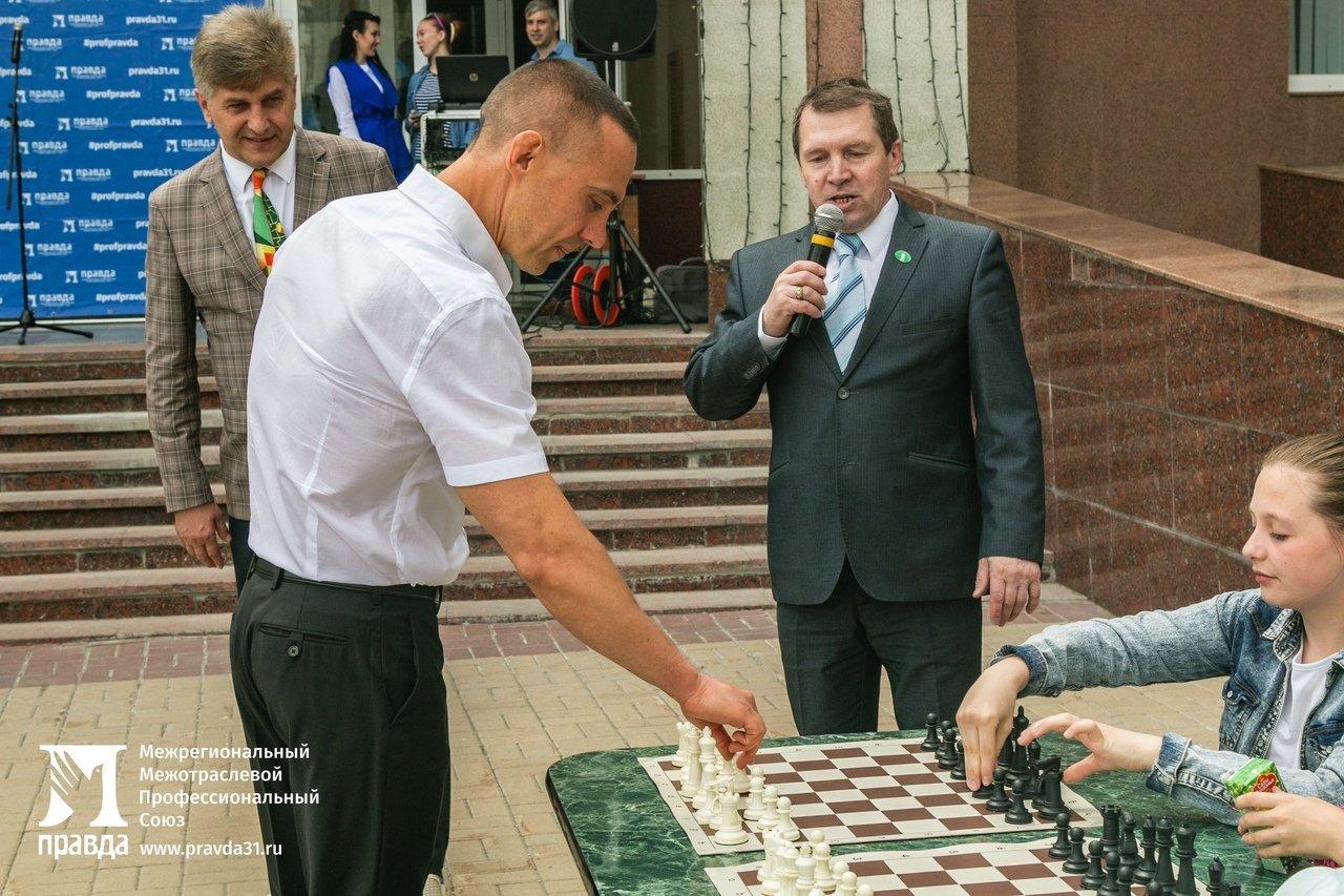 Детский шахматный турнир провели в Белгороде при поддержке профсоюза «Правда», фото-4