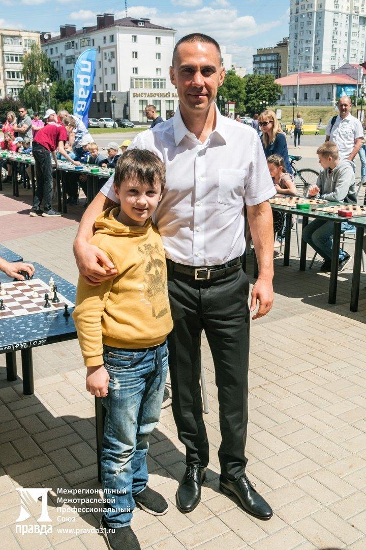 Детский шахматный турнир провели в Белгороде при поддержке профсоюза «Правда», фото-7
