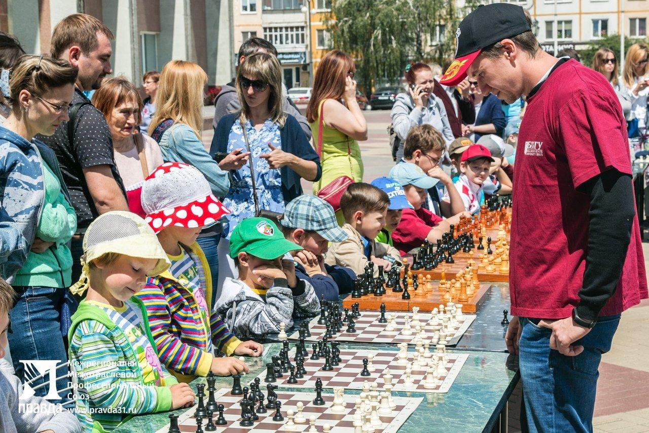 Детский шахматный турнир провели в Белгороде при поддержке профсоюза «Правда», фото-8