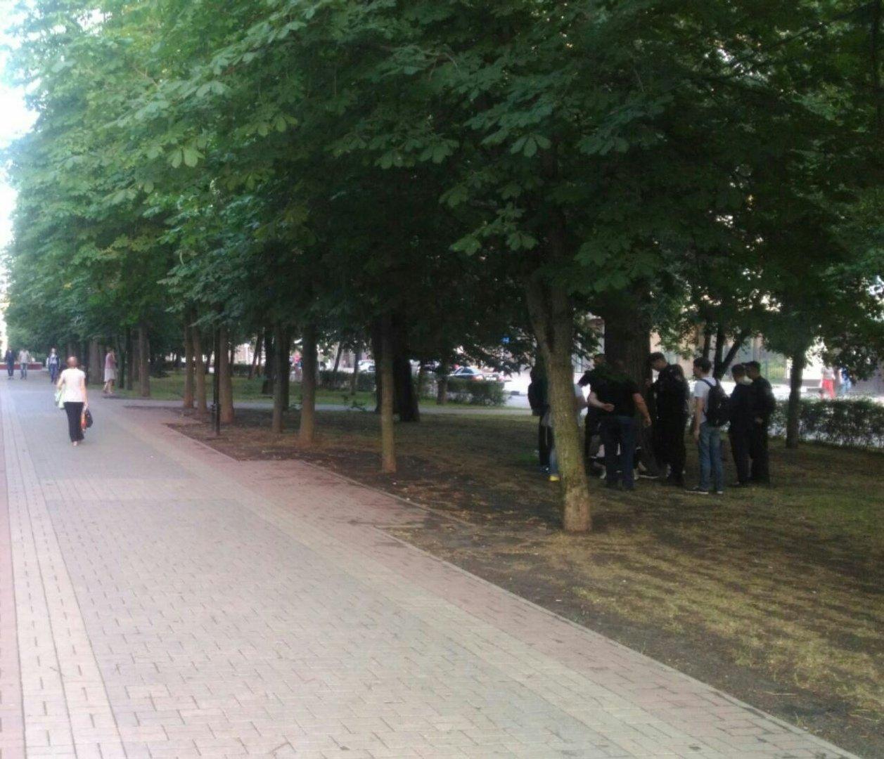 На «стометровке» компания белгородцев избила парня с девушкой, фото-1