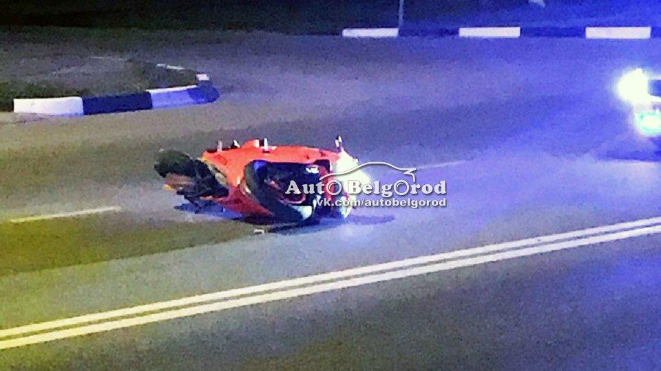 В Белгороде разбился мотоциклист, фото-2