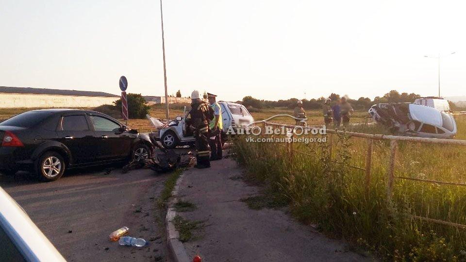 В Белгороде разбился мотоциклист, фото-5