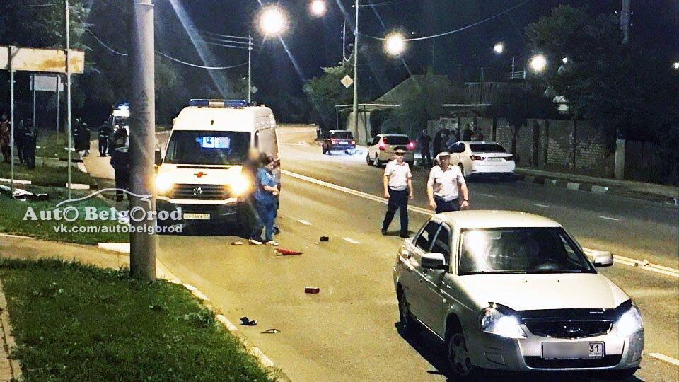 В Белгороде разбился мотоциклист, фото-1