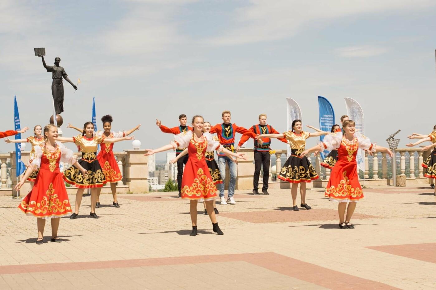 Студенты «Технолога» поучаствовал во флешмобе «Русь танцевальная» , фото-1