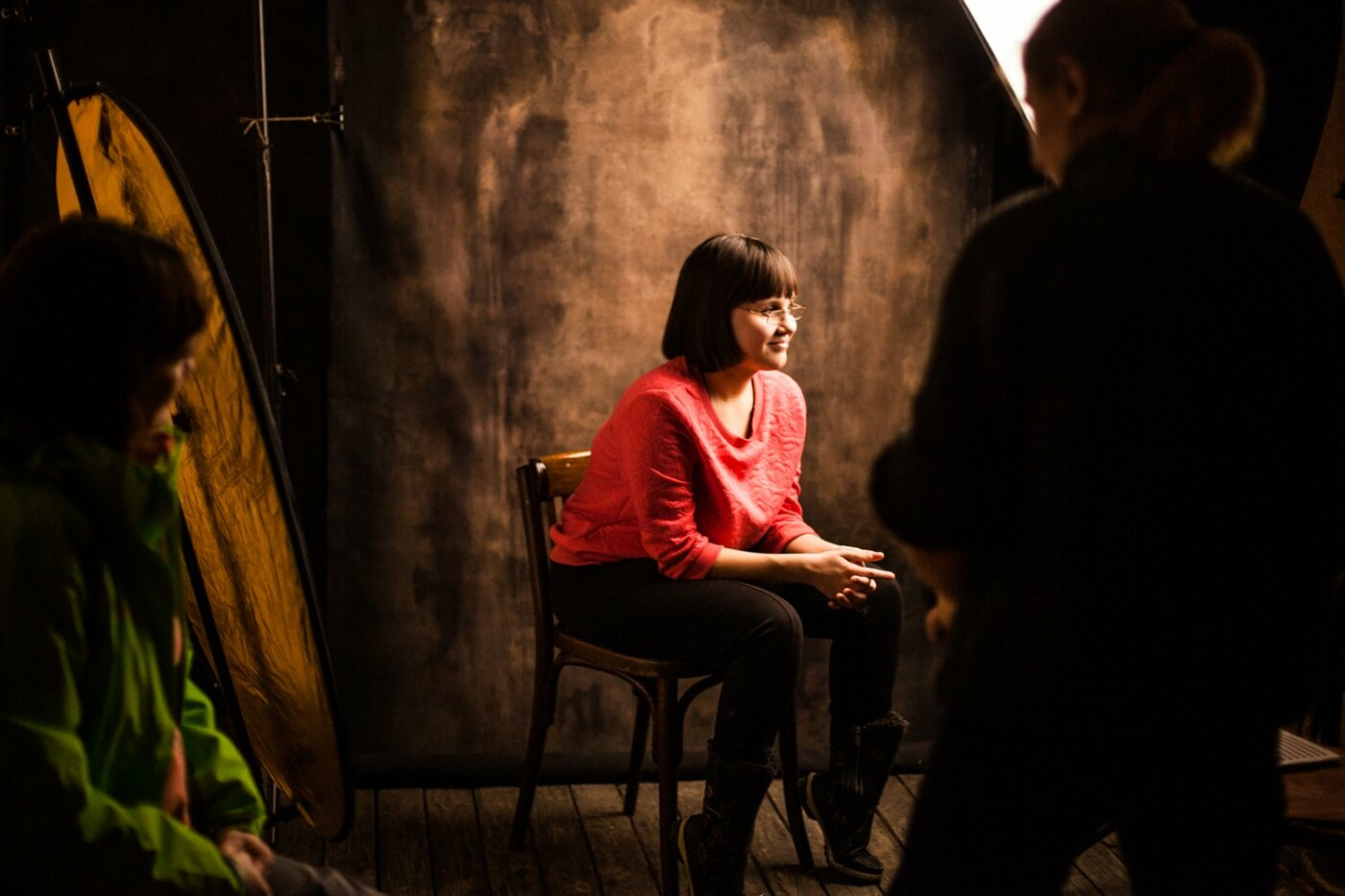 Главный редактор сайта Go31 Мария Литвинова стала соавтором фотопроекта о жизни без зрения «Я так вижу», фото-18