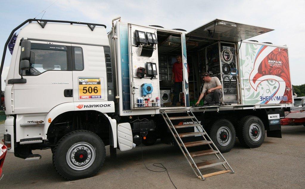 Команда АСК «Вираж» готовит свои авто к «Шёлковому пути», фото-1