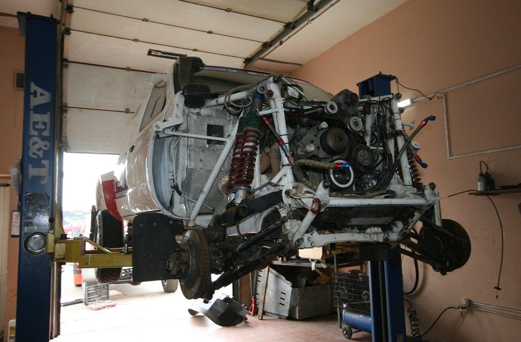 Команда АСК «Вираж» готовит свои авто к «Шёлковому пути», фото-3