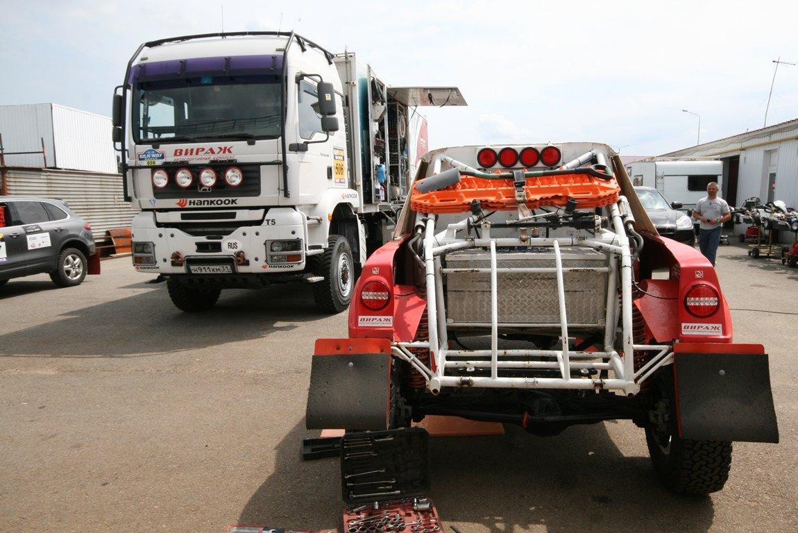 Команда АСК «Вираж» готовит свои авто к «Шёлковому пути», фото-6