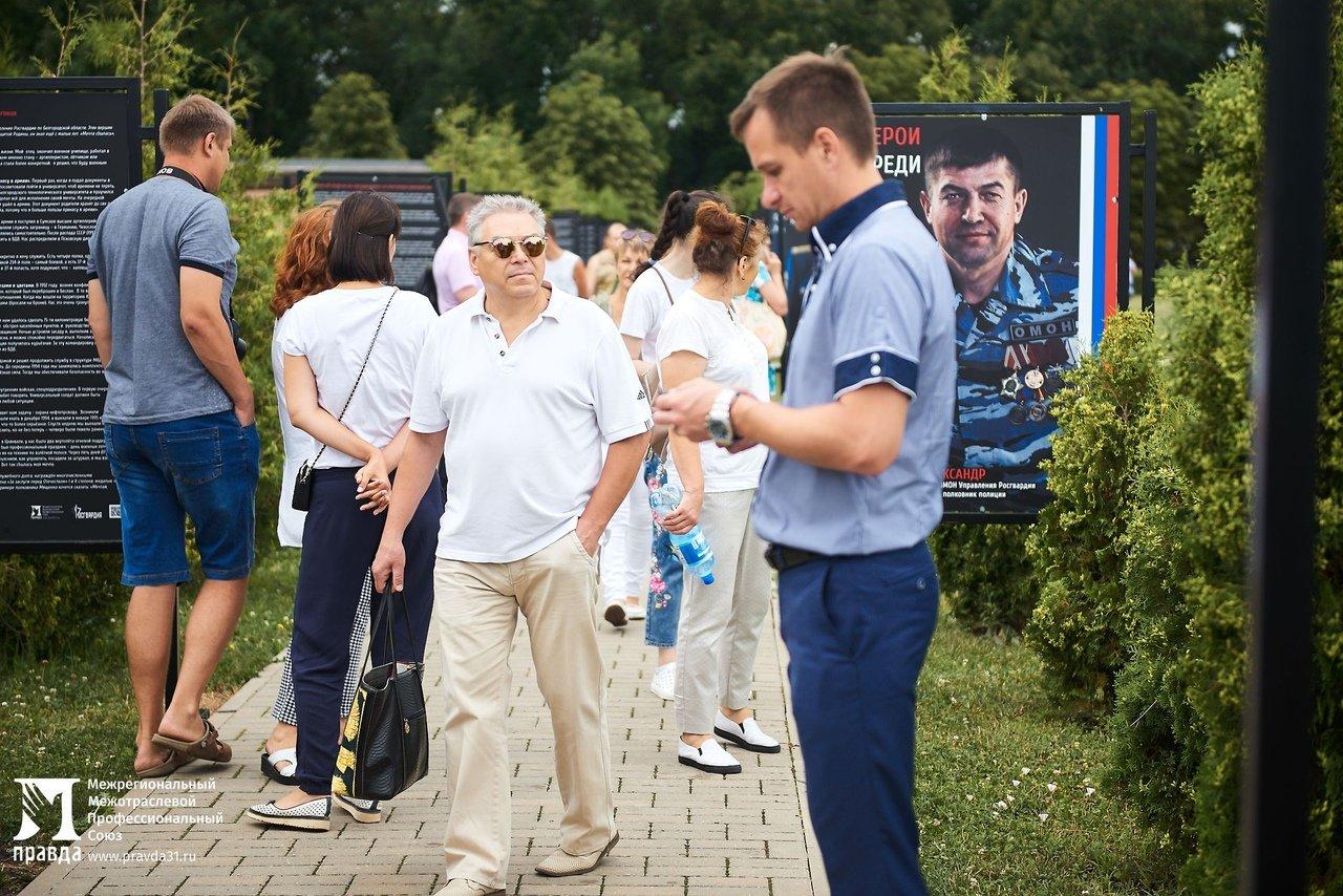 Фотовыставку «Герои среди нас» открыли на Третьем Ратном поле России, фото-11