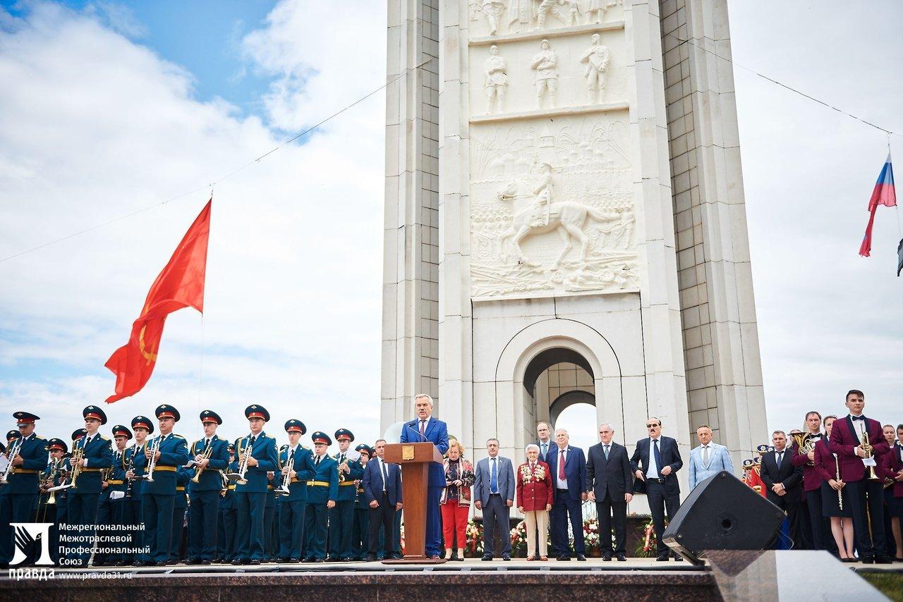 Фотовыставку «Герои среди нас» открыли на Третьем Ратном поле России, фото-7