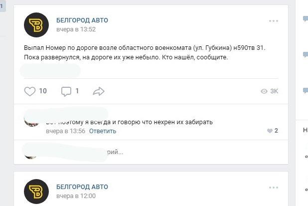 Из-за непогоды белгородские автомобилисты теряют номерные знаки, фото-3