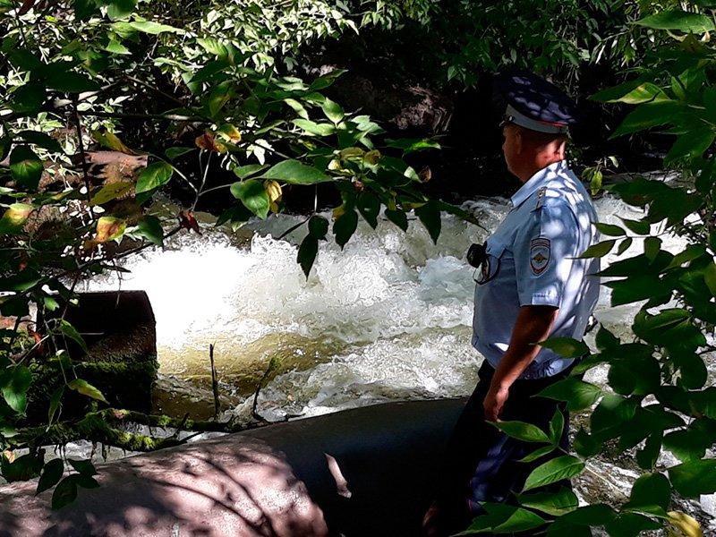 В Старом Осколе инспекторы ДПС спасли тонущую женщину, фото-2