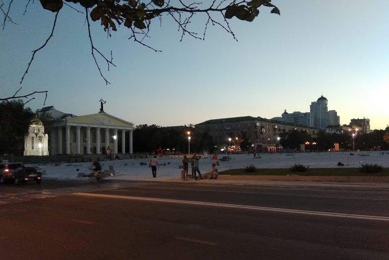 Ко Дню города после реконструкции на Соборной площади появится подсветка, фото-1