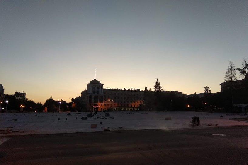 Ко Дню города после реконструкции на Соборной площади появится подсветка, фото-2