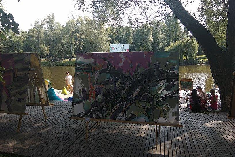 На набережной Везёлки прошёл фестиваль искусств под открытым небом , фото-12