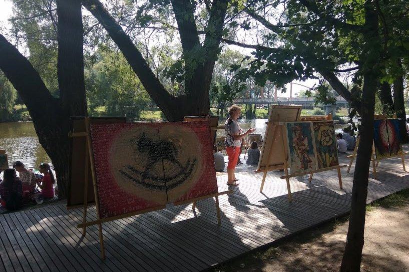 На набережной Везёлки прошёл фестиваль искусств под открытым небом , фото-5
