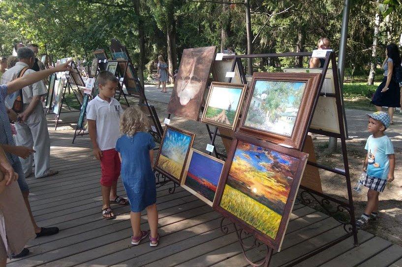На набережной Везёлки прошёл фестиваль искусств под открытым небом , фото-9