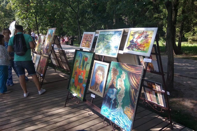 На набережной Везёлки прошёл фестиваль искусств под открытым небом , фото-10
