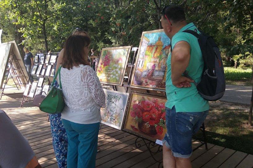 На набережной Везёлки прошёл фестиваль искусств под открытым небом , фото-11