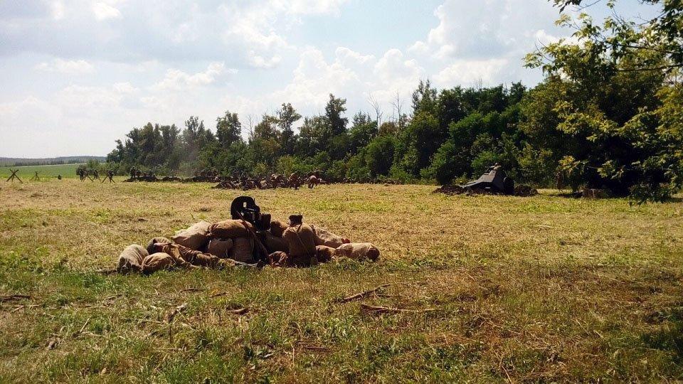 Реконструкторы воссоздали картину Курской битвы, фото-4