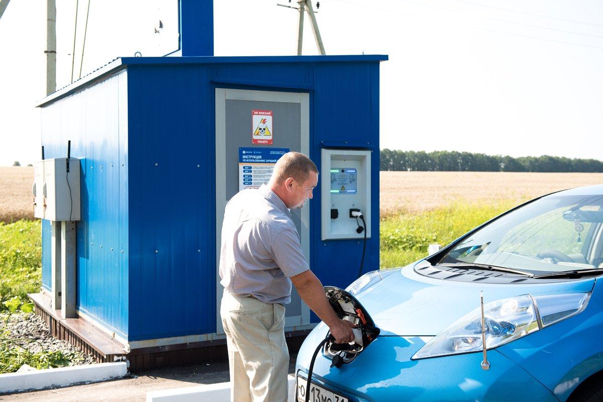 На белгородской трассе заработали зарядные станции для электромобилей, фото-2