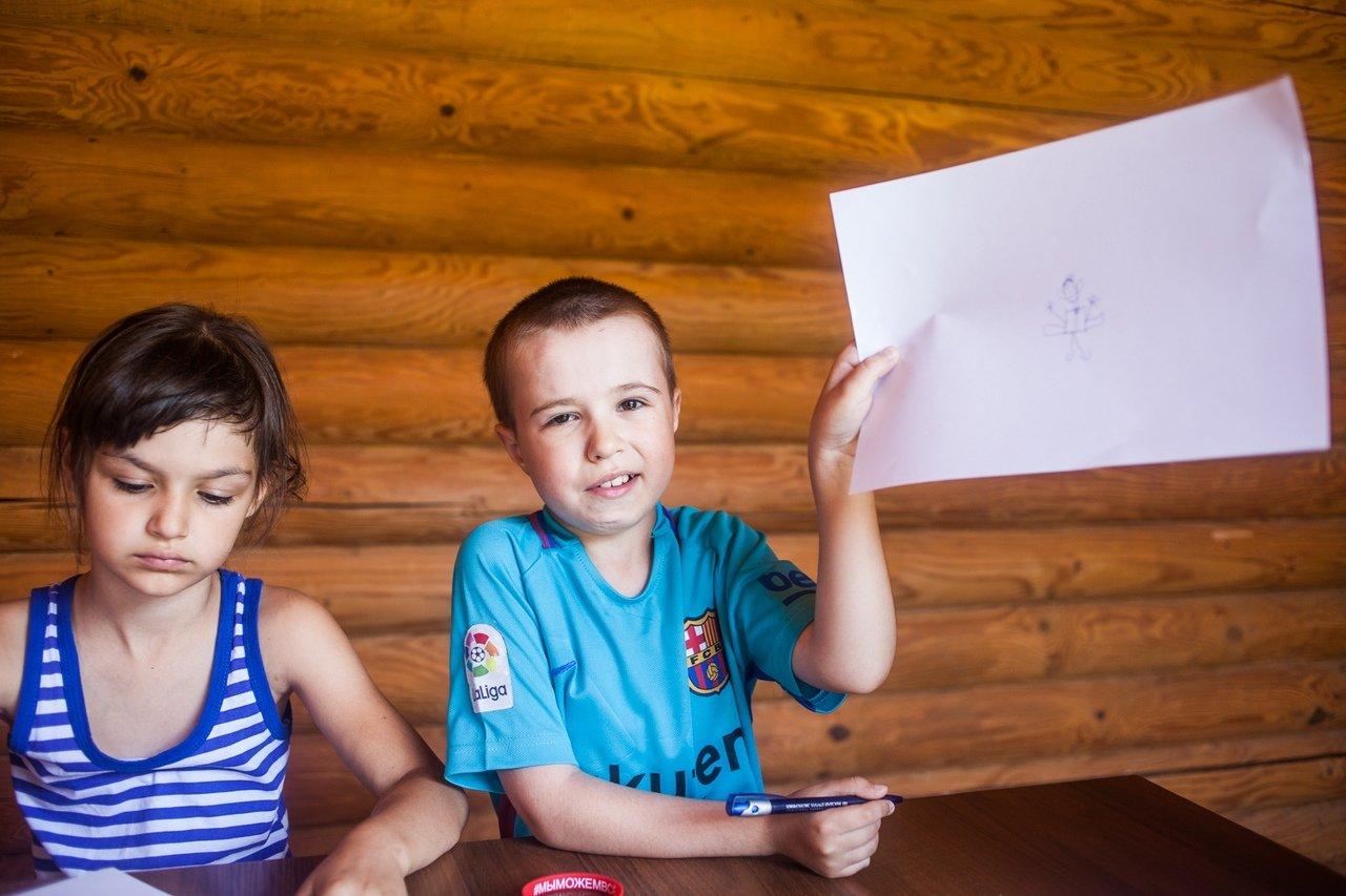 В белгородском реабилитационном лагере «Мы можем всё» дети научились писать сюжеты к киносценариям, фото-7