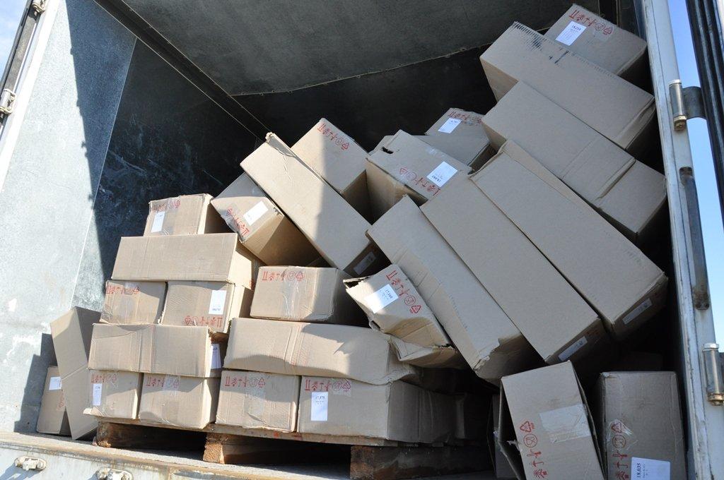 В Шебекине бульдозер раскатал 20 тонн сыра, фото-1