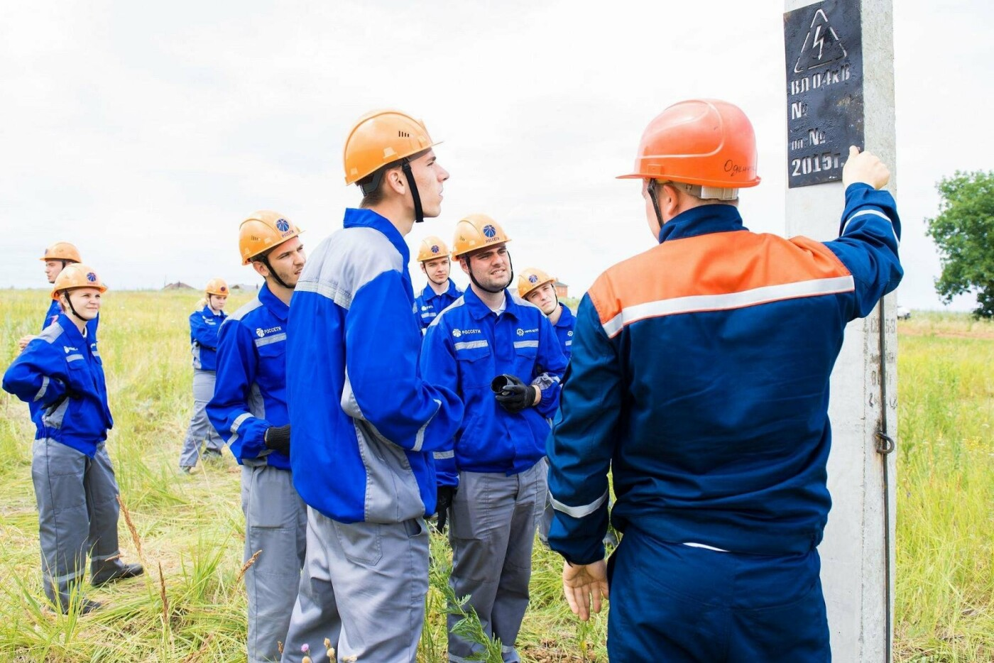 Бойцы студотряда «Фаза» закончили работу на объектах «Белгородэнерго», фото-6
