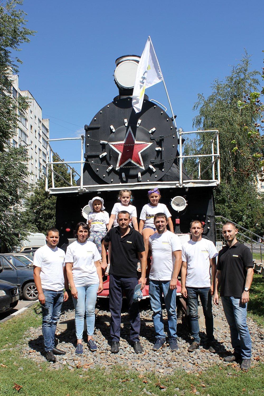 В Белгороде специалисты Керхер Центра очистили паровоз-музей РЖД, фото-10