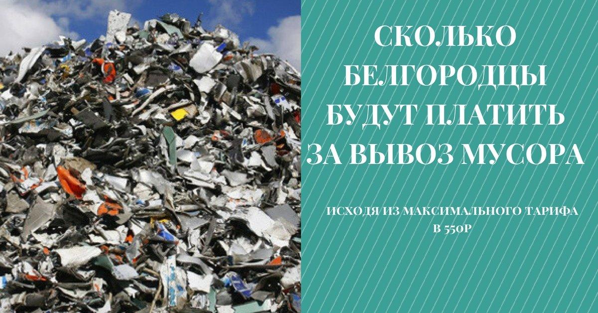 Сколько мы будем платить за вывоз мусора. Карточки Go31, фото-1