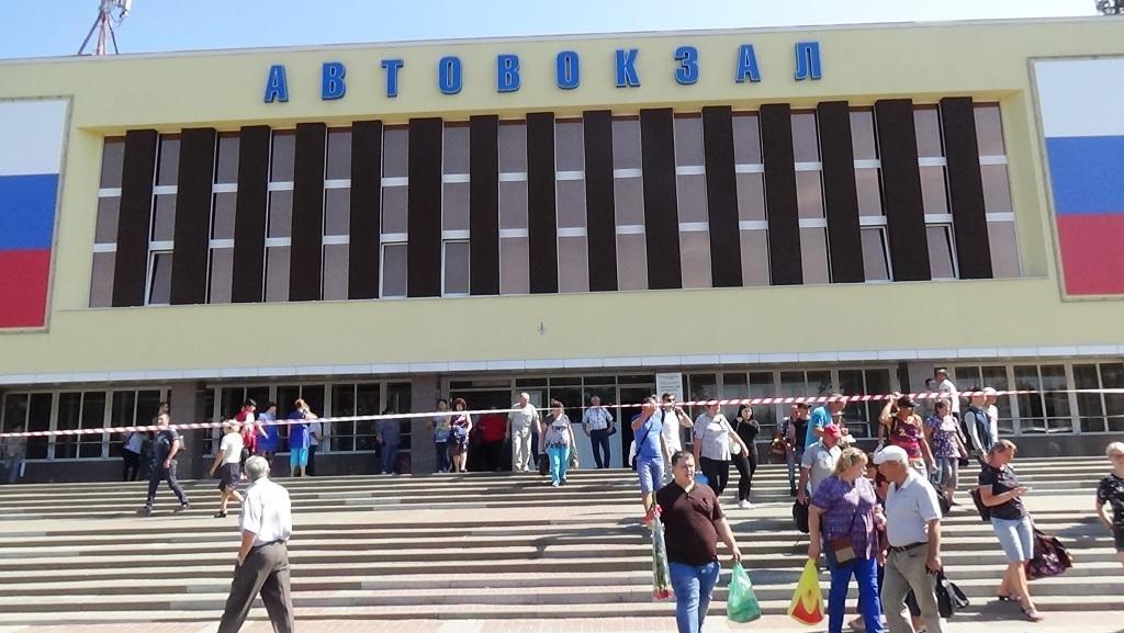 В Белгороде потушили пожар в камерах хранения автовокзала, фото-1