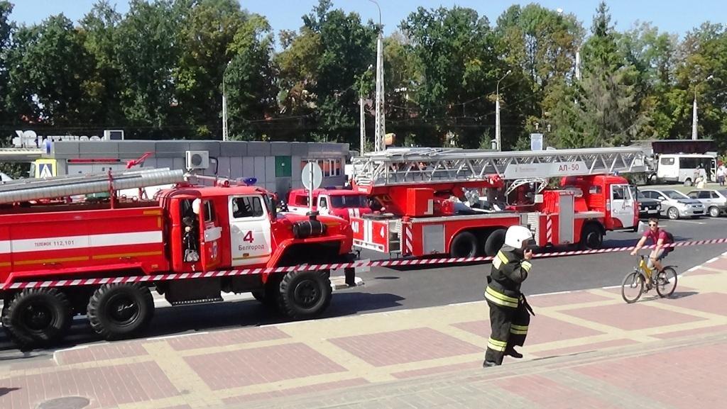В Белгороде потушили пожар в камерах хранения автовокзала, фото-4