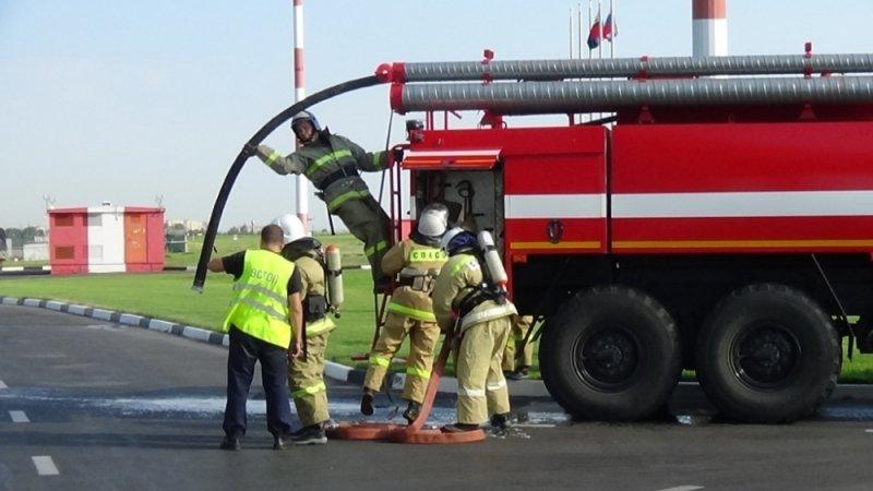 В Белгороде потушили пожар в камерах хранения автовокзала, фото-8