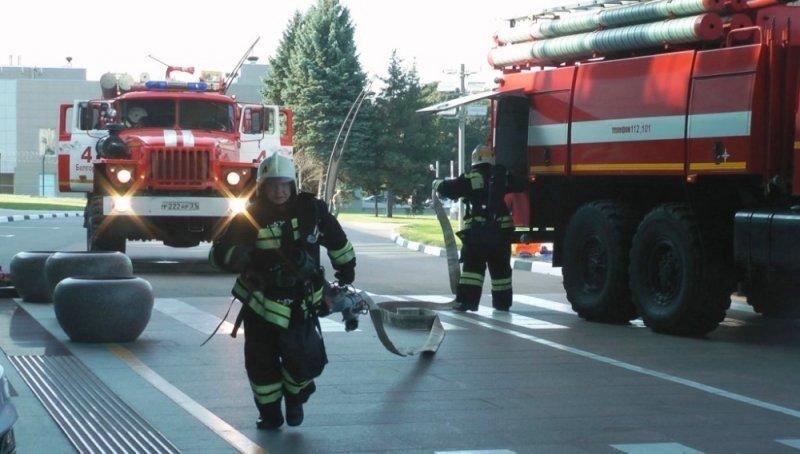 В Белгороде потушили пожар в камерах хранения автовокзала, фото-7