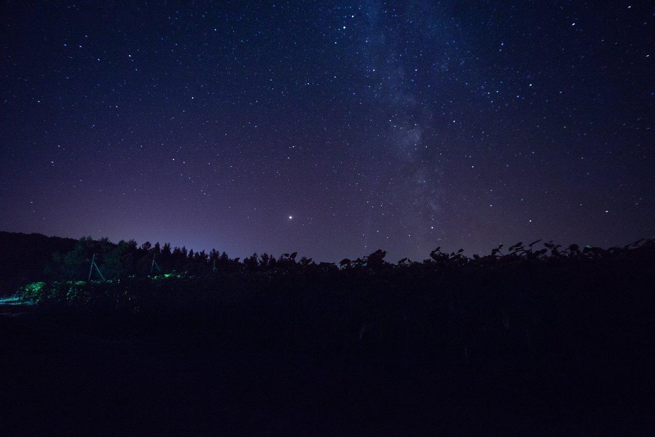 Небо над Ломным, Фото Аллы Григорьевой