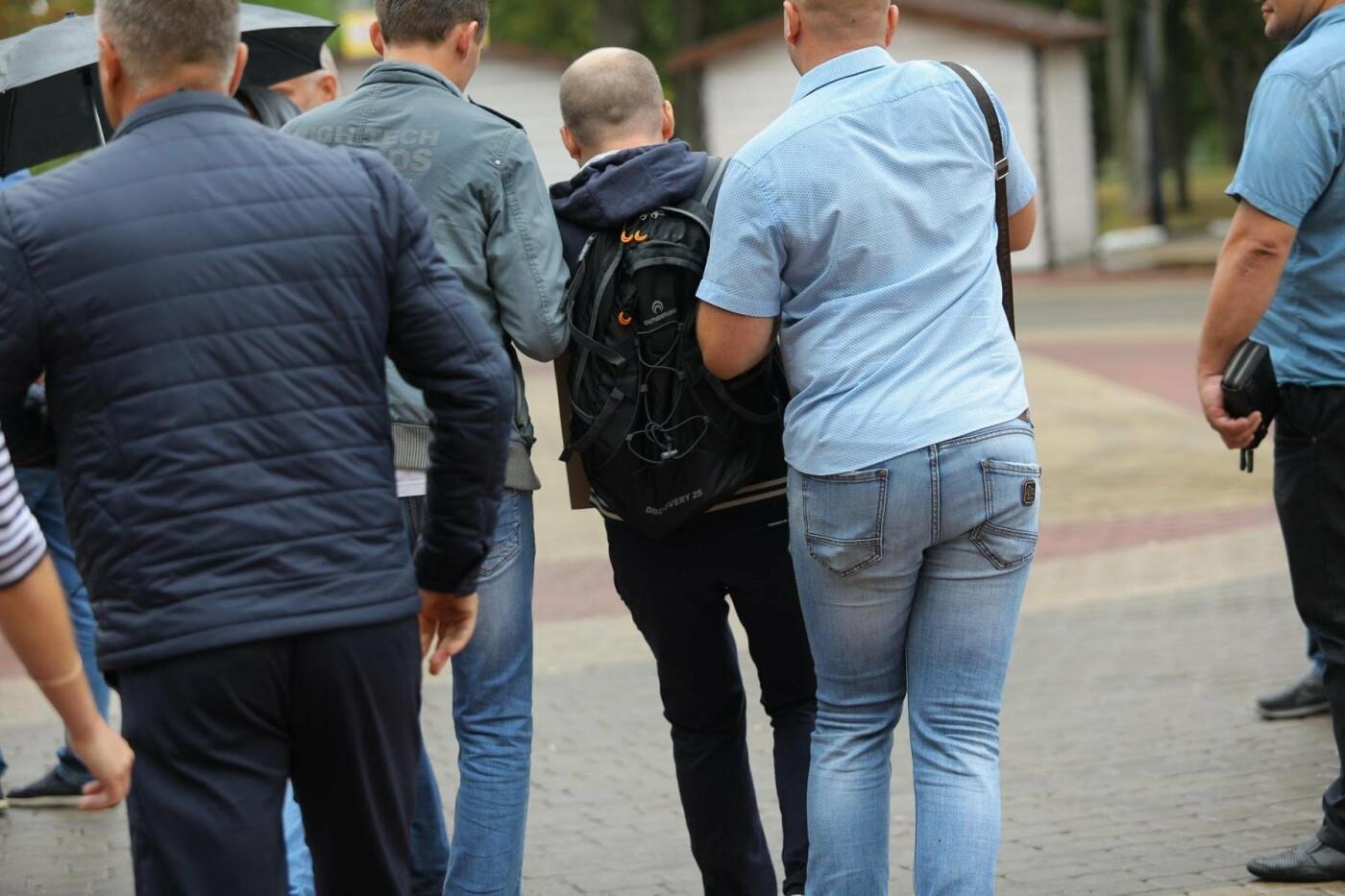 Как в Белгороде прошёл митинг против повышения пенсионного возраста (фото), фото-8