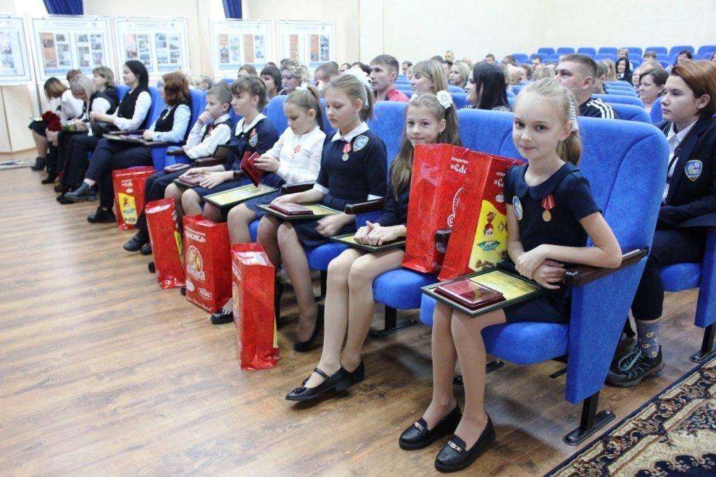 В Белгороде медалями МЧС наградили детей-героев, фото-5