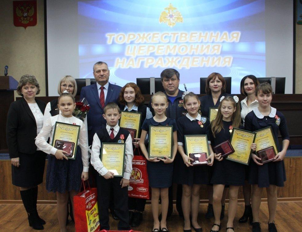 В Белгороде медалями МЧС наградили детей-героев, фото-6
