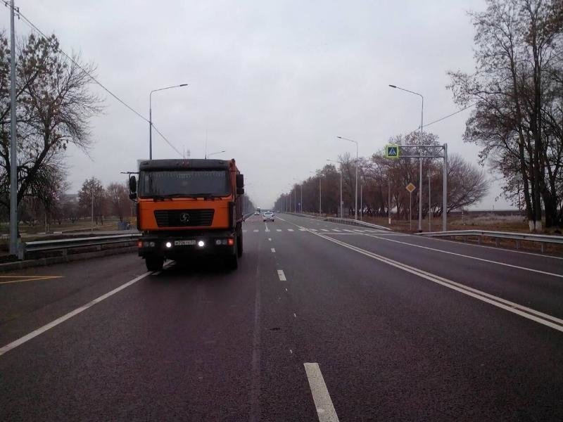 На границе под Белгородом грузовик сбил мужчину, фото-1